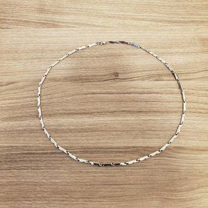 "Men's Silver Chain - 21 3/4"" - 29g - Lobster Claw"